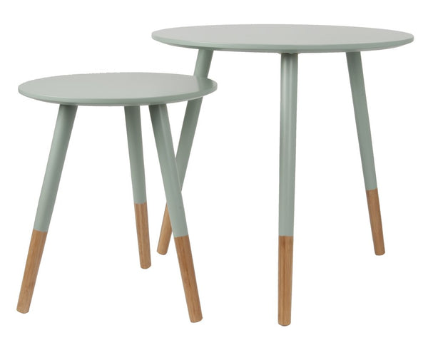 Anette Nest of Tables - Misty Grey