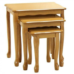 Borinda 3 Piece Nest Of Tables - Golden Oak