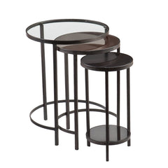 Denver 3 Piece Nest of Tables | BUY FROM NEST OF TABLES UK | FREE DELIVERY UK MAINLAND