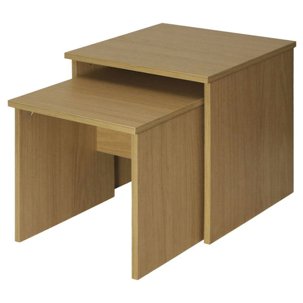 Sarri 2 Piece Nest of Tables - Oak