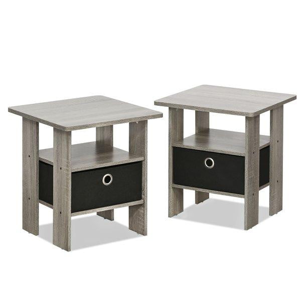 Amani 2 Piece Side Tables (Set of 2) - Oak Grey
