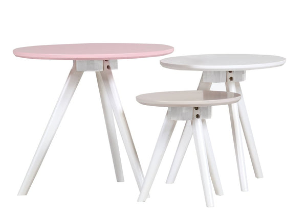 Erika 3 Piece Nest of Tables - Berry