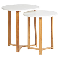 Oslo 2 Piece Nest of Tables | BUY FROM NEST OF TABLES UK | FREE DELIVERY UK MAINLAND