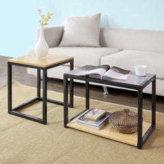 Sheevam 2 Piece Nest of Tables