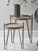 Iron Hairpin Nest of Tables | BUY FROM NEST OF TABLES UK | FREE DELIVERY UK MAINLAND