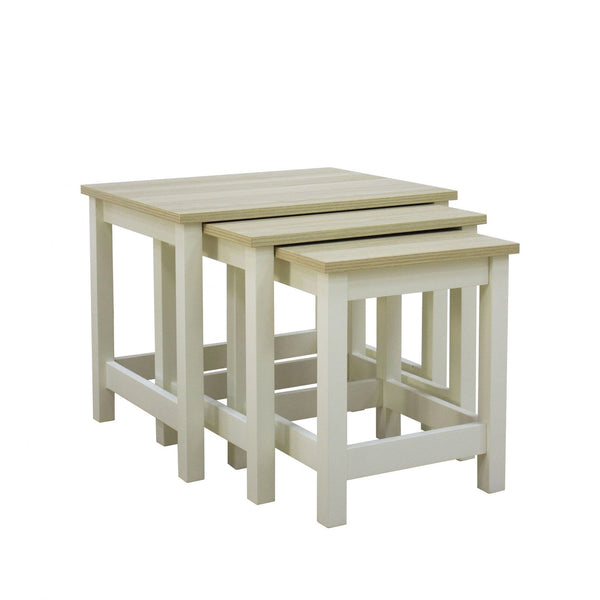 Belway Nest of Tables - Buttermilk