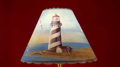 Black Stripe Lighthouse Shade