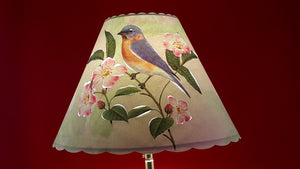 Bluebird Lamp Shade