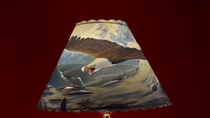 Bald Eagle Lamp Shade