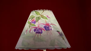 Humming Bird Lamp Shade
