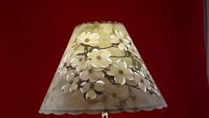 White Dogwood Lamp Shade