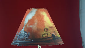Firefighter Lamp Shade