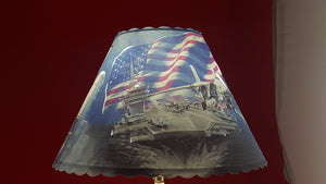 Navy Lamp Shade