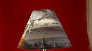 Black Dragon Lamp Shade