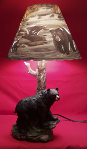 Single Bear Lamp