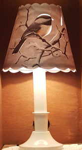 Chickadee Lamp Shade