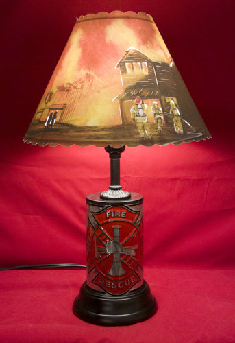 Firefighter Lamp