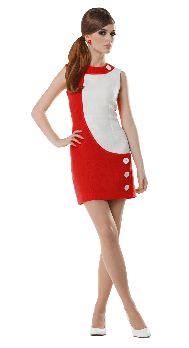MARMALADE Mod 60s Space Age Dress