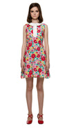 MARMALADE 60s Style Floral Dress with Collar