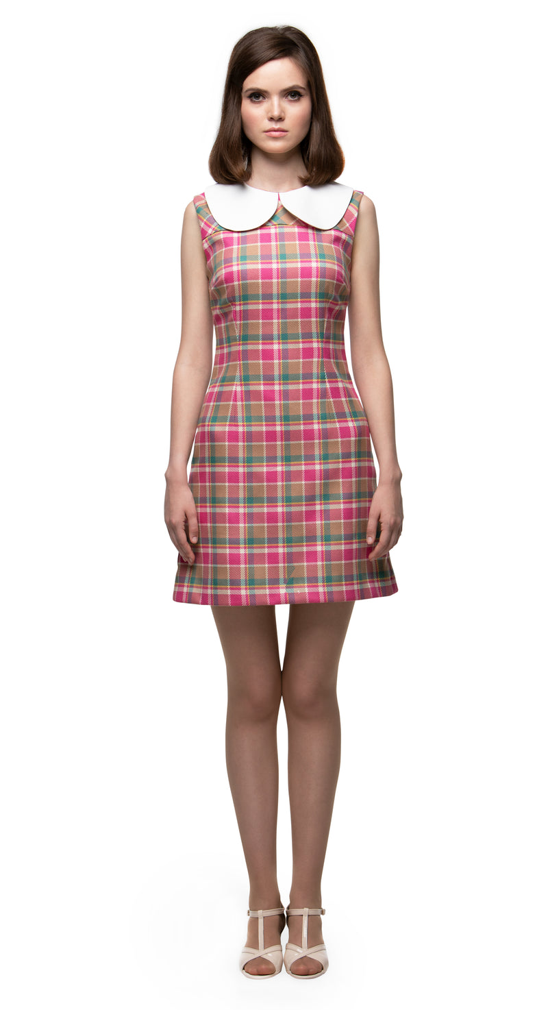 MARMALADE Mod Style Dress with Large Collar