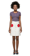 MARMALADE Retro Skirt with Circle Pockets
