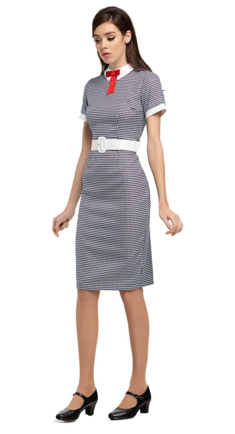 MARMALADE 1950's Inspired Houndstooth Dress