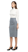 MARMALADE 1950's Inspired Houndstooth Pencil Skirt