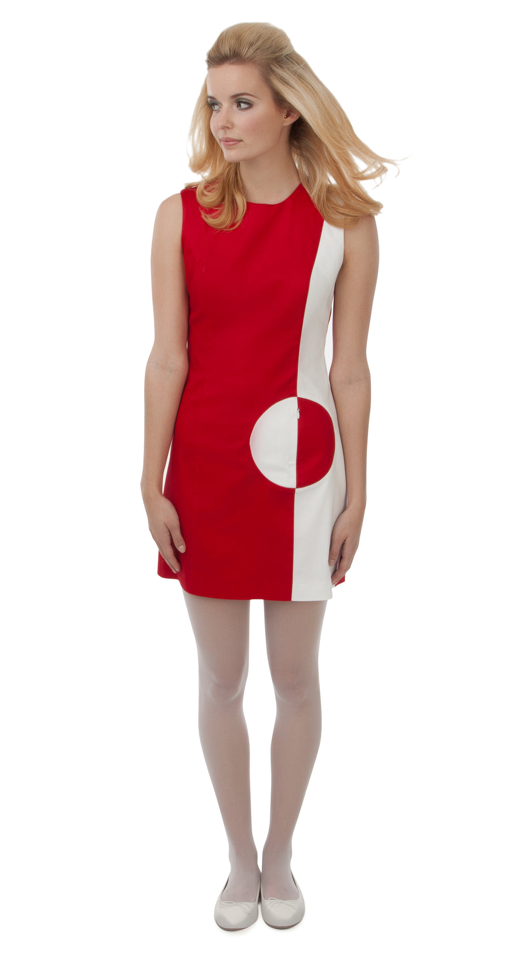 CIRCLE POCKET DRESS