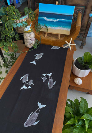 Table Runner: Humpback Whale