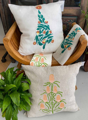 Cushion Cover: Banksia Christmas Tree