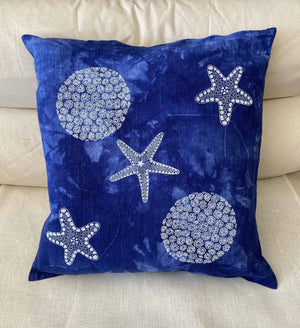 Cushion Cover: Coral & Star Fish