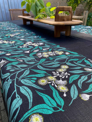 Tablecloth: Flowering Eucalyptus