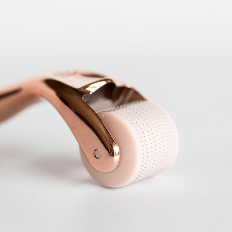 The Activator™ 0.3MM Rose Gold Dermal Roller