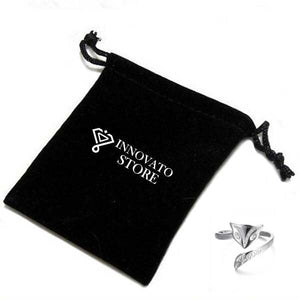 Exquisite Bijoux Silver-plated Women Party Fing with an Adjustable Shank