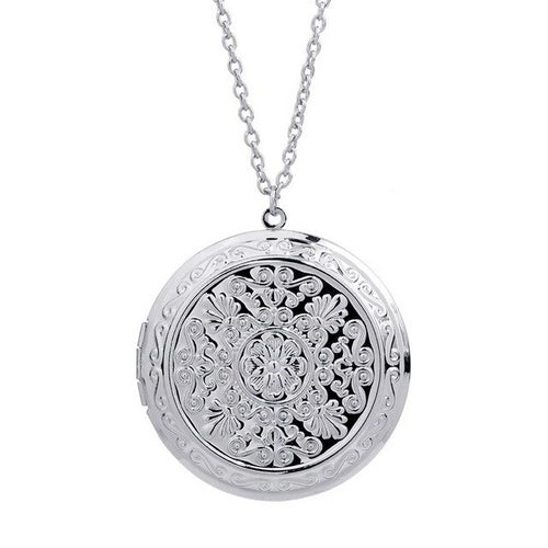 Photo Frame Locket Pendant Necklace