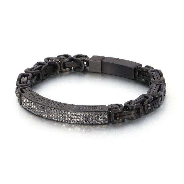 Stainless Steel Friendship Chain Bracelet for Men