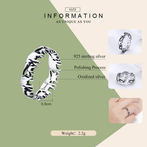 925 Sterling Silver Elephant Family Rings Women's Jewelry - Innovato Store