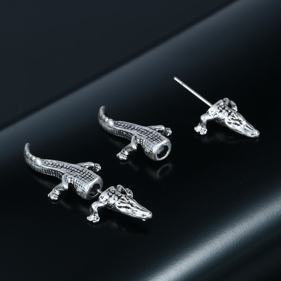 Vintage and Charming Crocodile Earrings Women's Jewelry