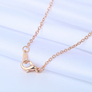 Gold/Silver Aries Zodiac Sign Pendant Necklace