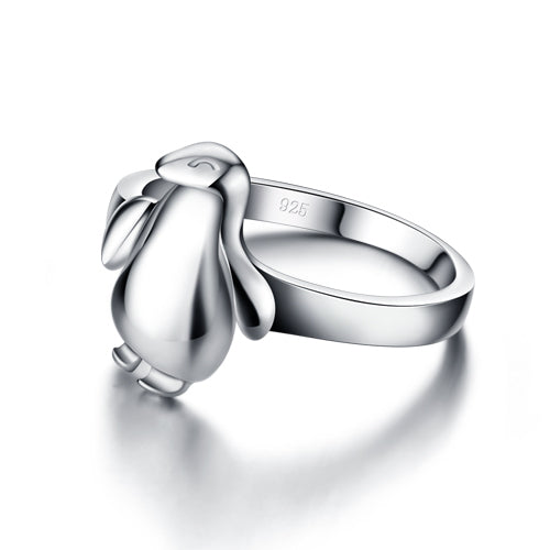 925 Sterling Silver Penguin Ring Women's Jewelry - Innovato Store
