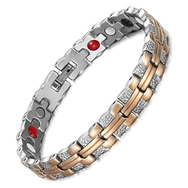 Stainless Steel Trendy Magnetic Bracelet for Women