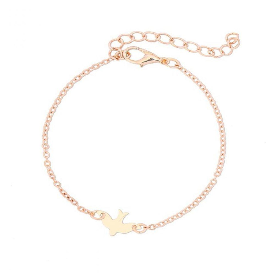 Dove Baby Pendant Anklet