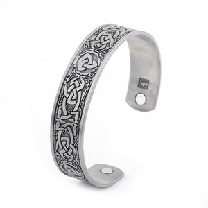 Celtic Irish Trinity Knot Adjustable Magnetic Bracelets
