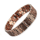 Vintage Pure Copper Magnetic Bracelet for Men