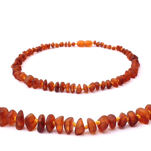 Classic Baltic Amber Gemstone Baby Necklace