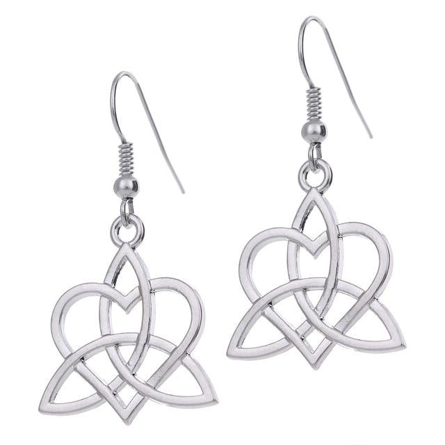 Irish Celtics Knot Stud Earrings Women's Jewelry