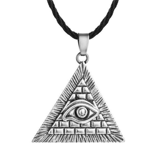 Silver Plated Egyptian Inspired Pendant Necklaces