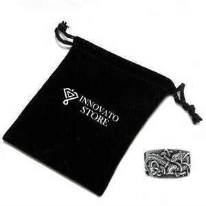 Norse Mysterious Viking Talisman Unisex Ring - Innovato Store