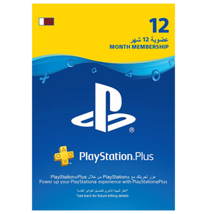 PlayStation Plus Membership - Qatar