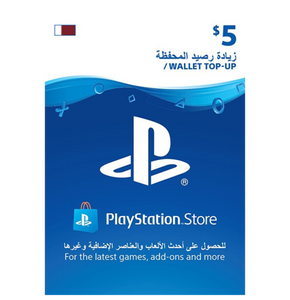 PlayStation Network Card - Qatar